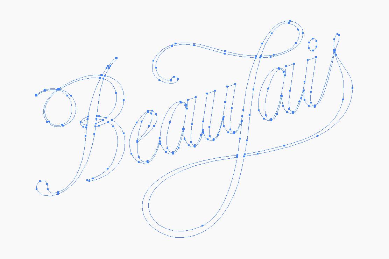 Beaujais brand identity wireframe