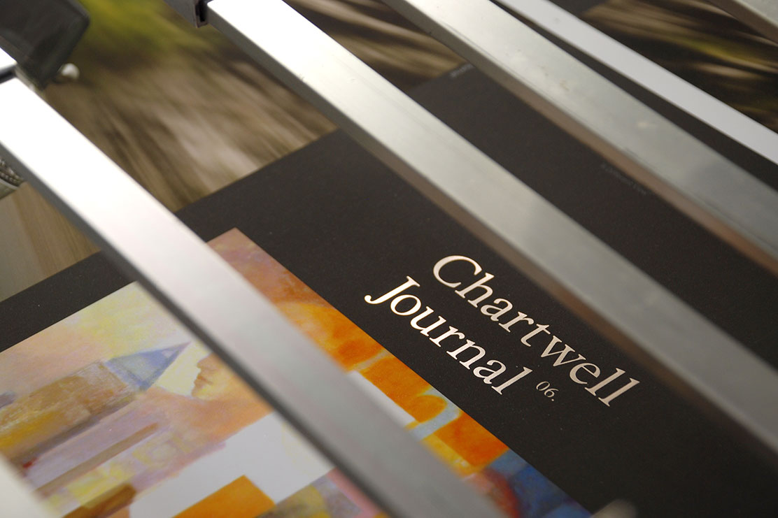 Chartwell journal bespoke magazine design