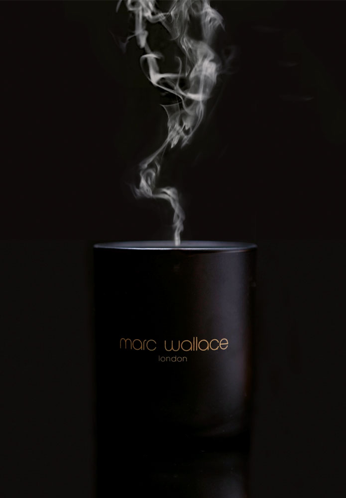 Marc Wallace candle