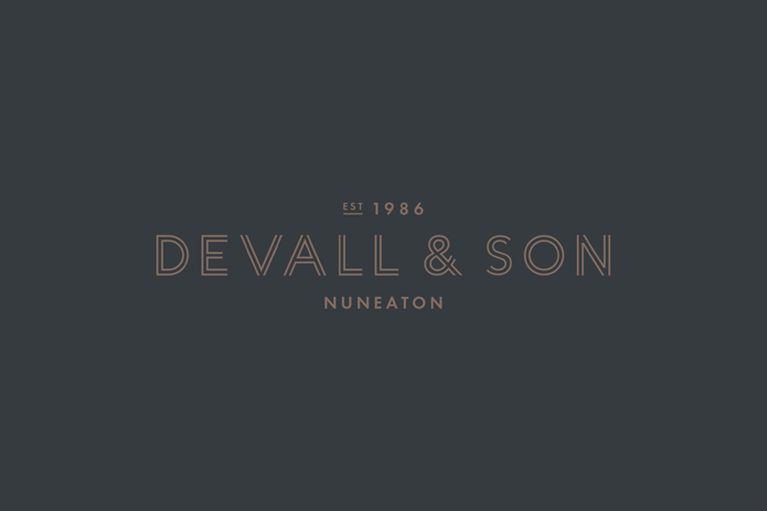 Brand design for Devall & Son