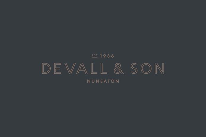 Brand design for Devall & Son