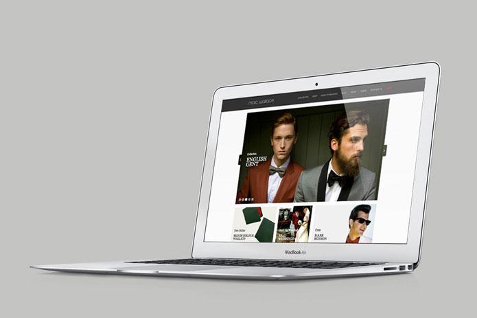 Marc Wallace website designed by Parent