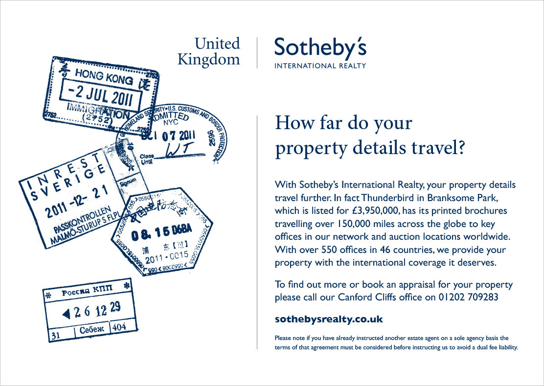 Sothebys advertising campaign