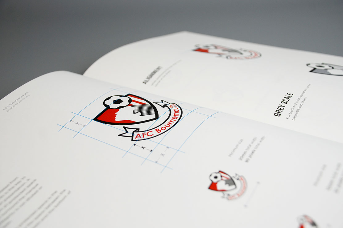 AFC Bournemouth logo guidelines