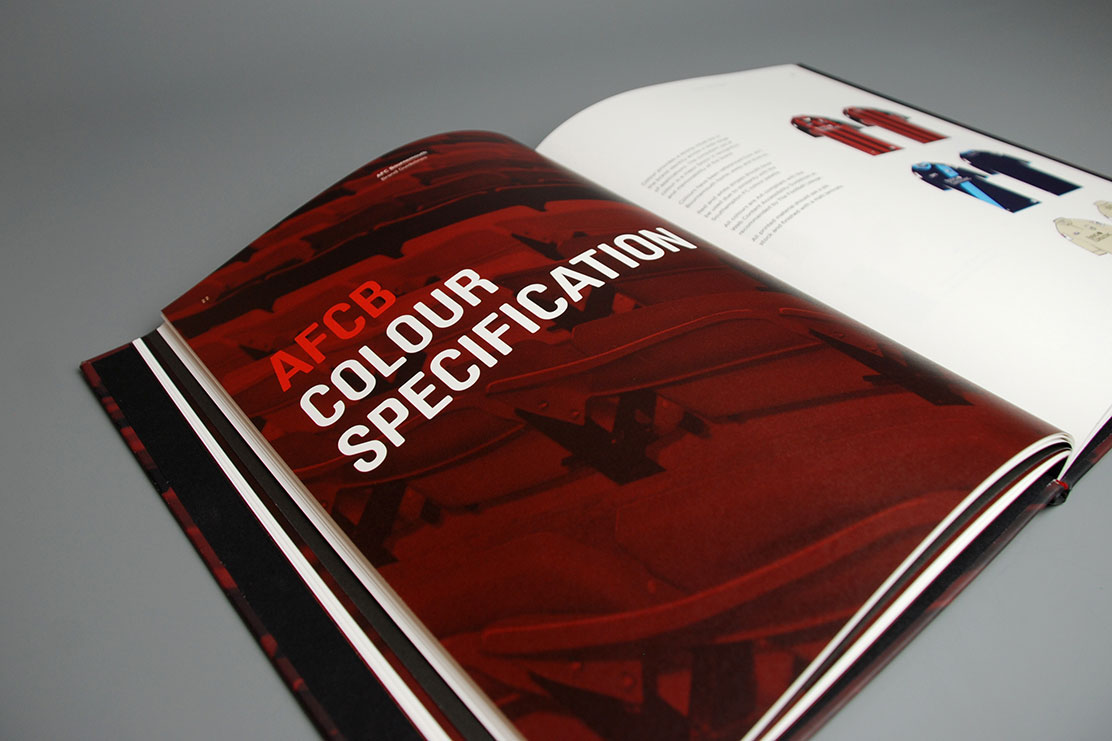 AFC Bournemouth colour guidelines