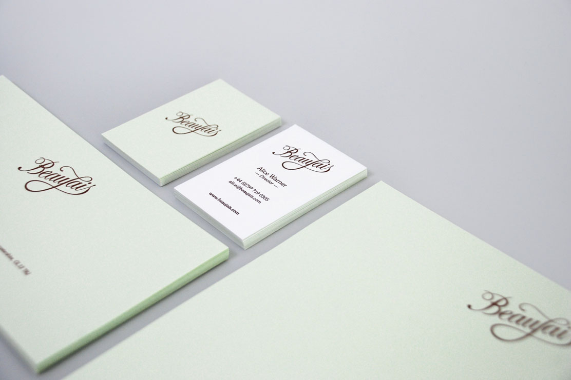Beaujais brand stationary