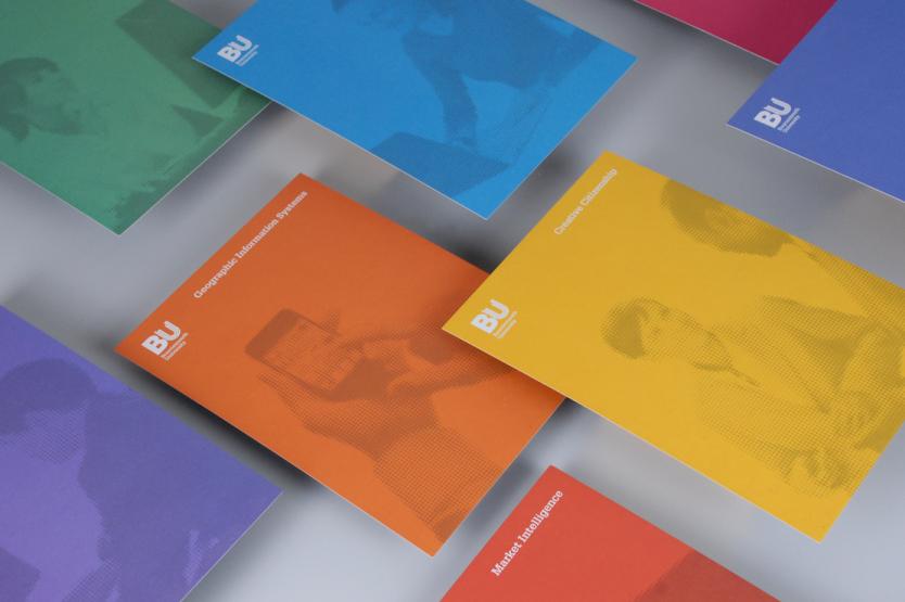 Bournemouth University brochure design