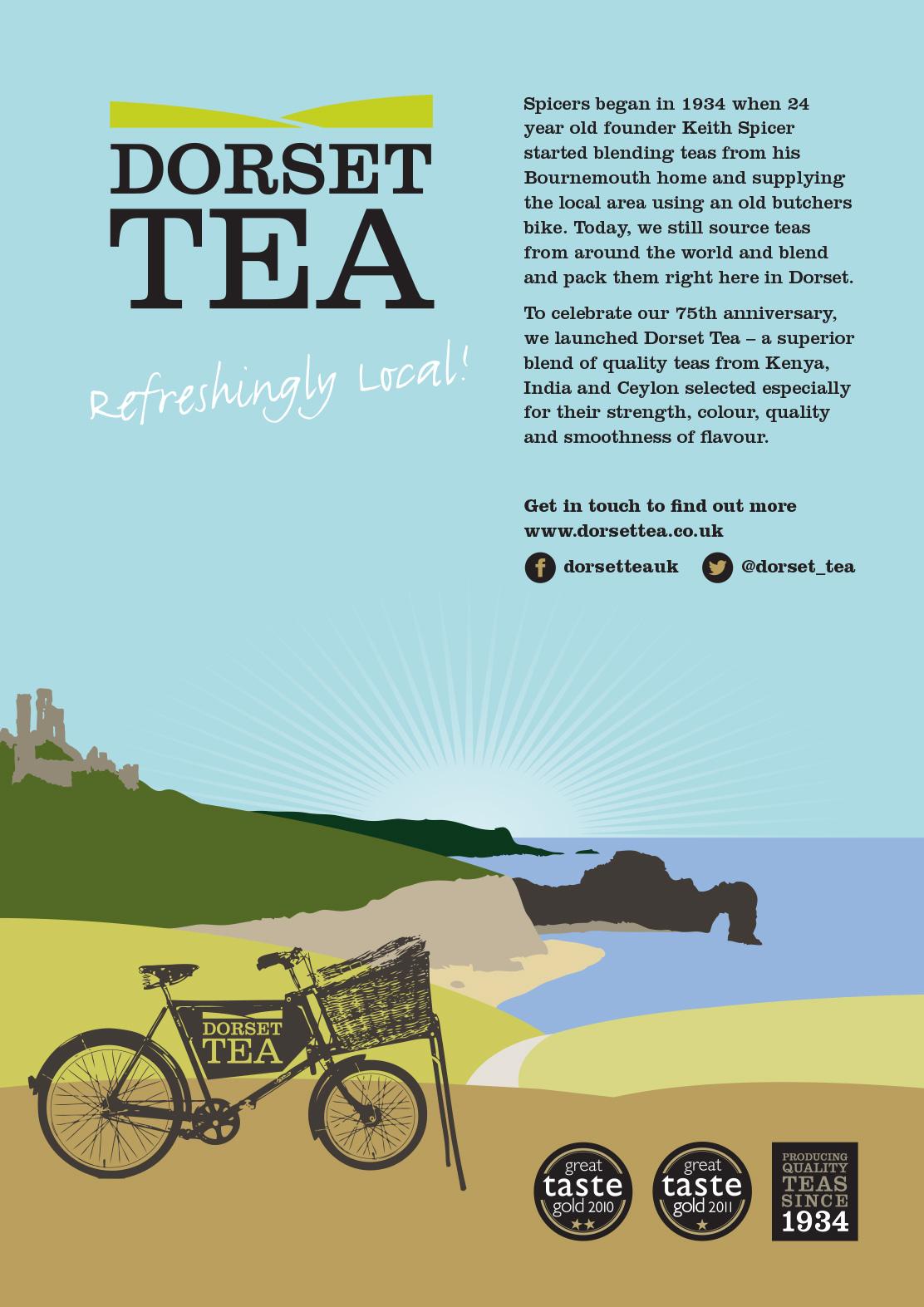Dorset Tea advertising campaign