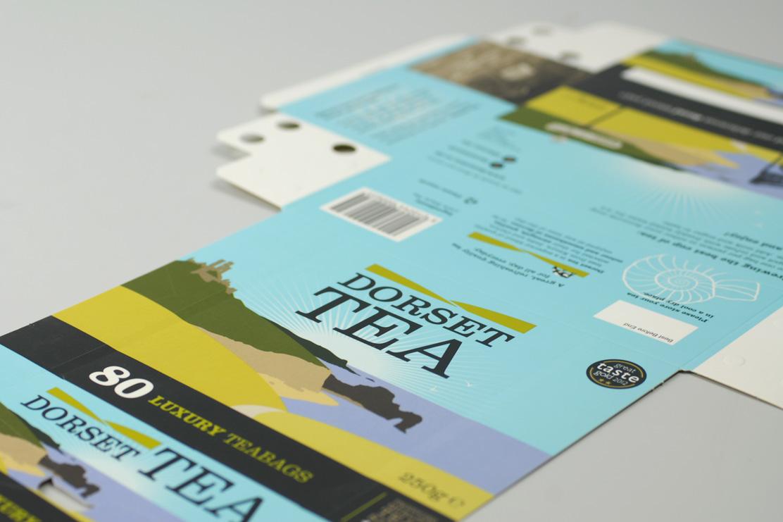 Dorset Tea packaging design