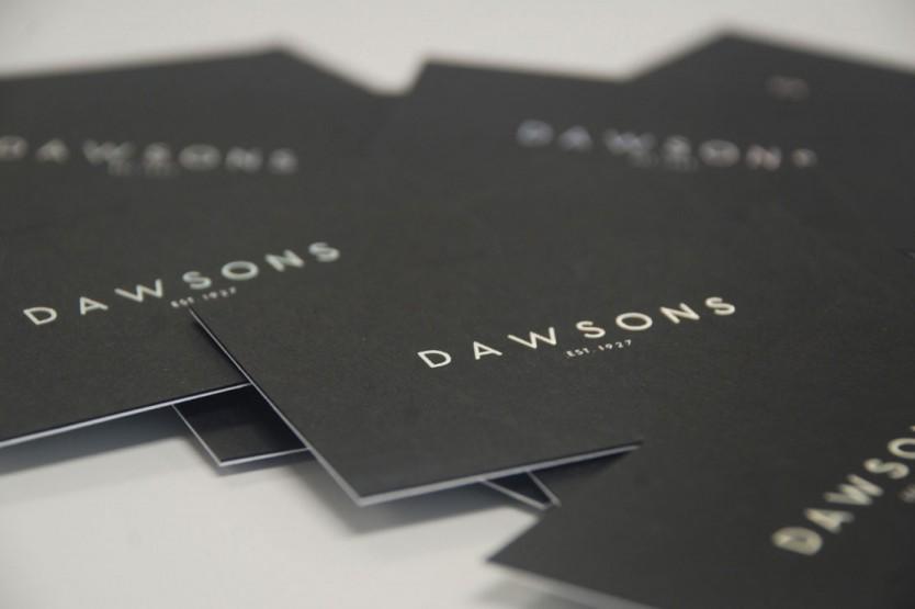 Dawsons brand identity