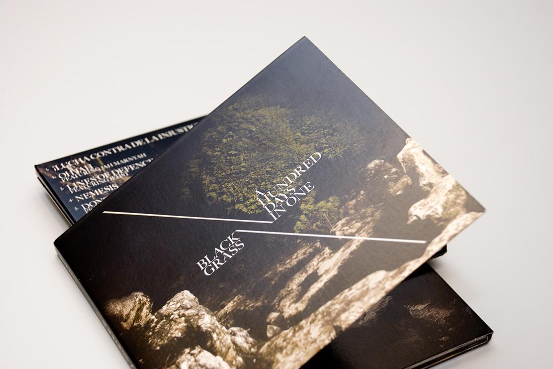 Black Grass album design by Parent