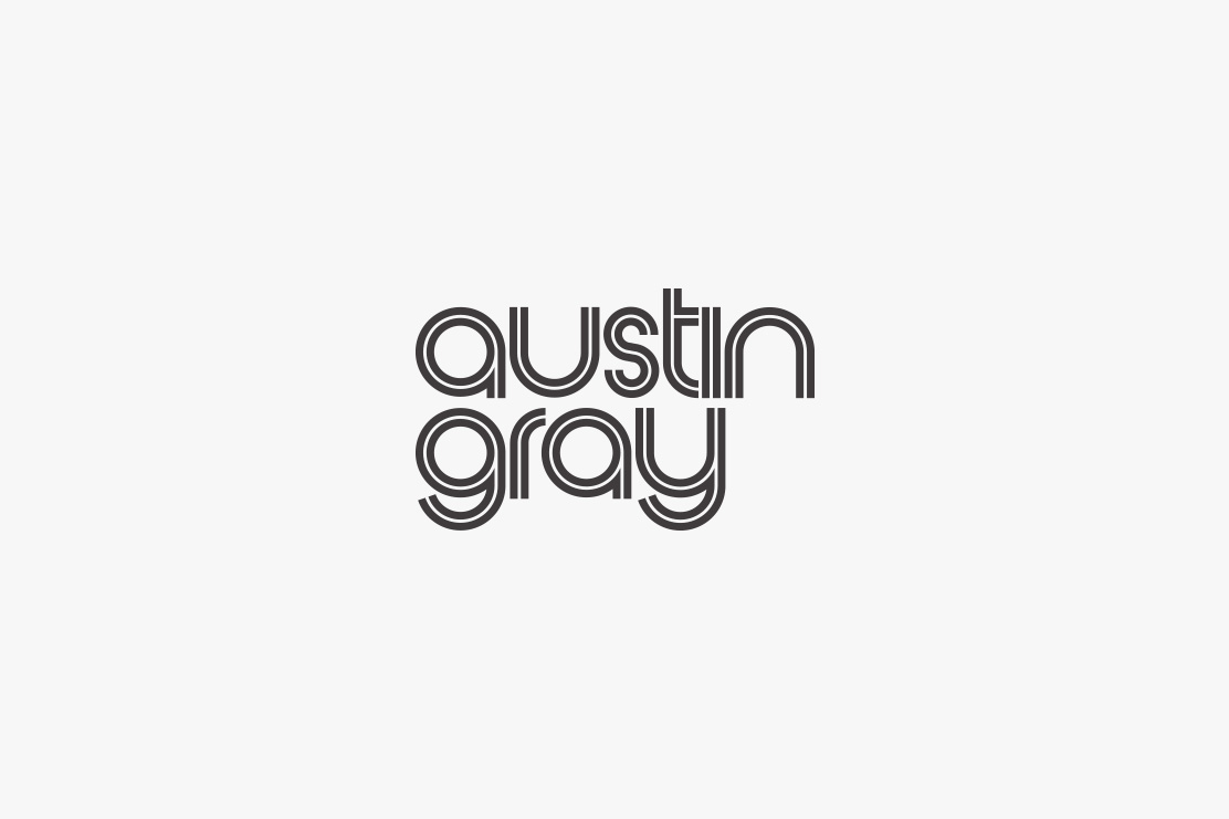 Austin Gray logotype design by Parent