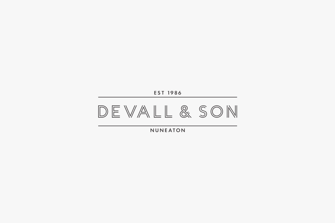 Devall & Son logotype design by Parent