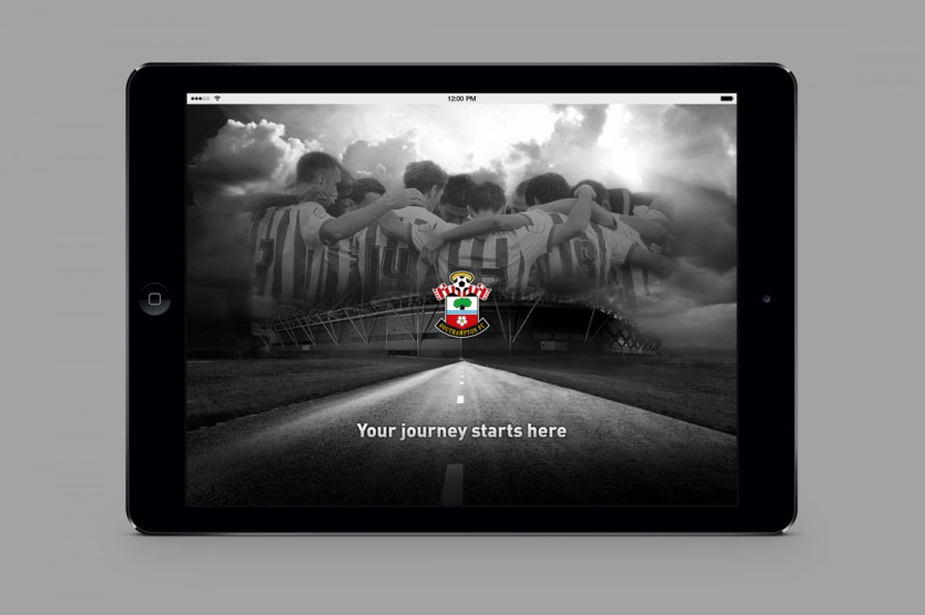 Southampton FC App design by Parent
