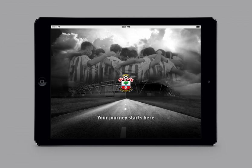 Southampton FC App design by Parent