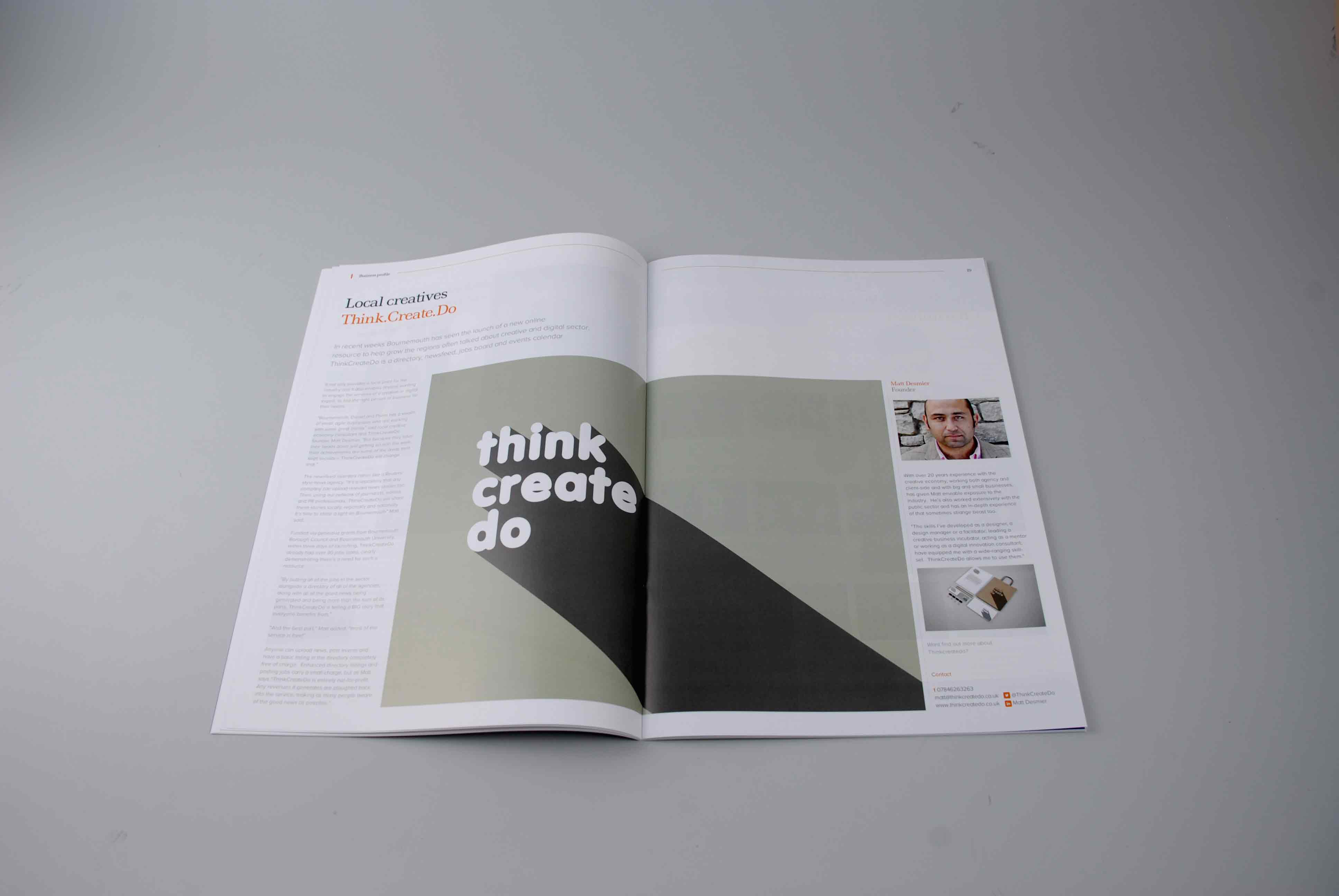 BH Business Magazine Re-Design