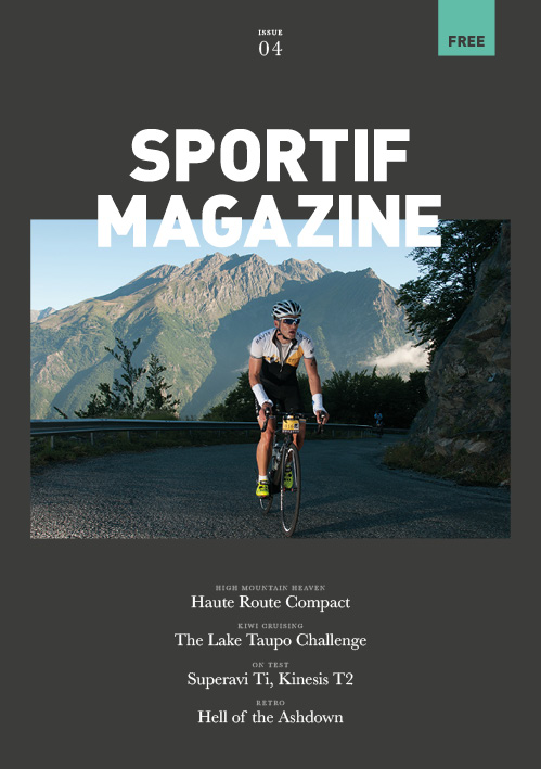Sportif Issue 4 - Cover