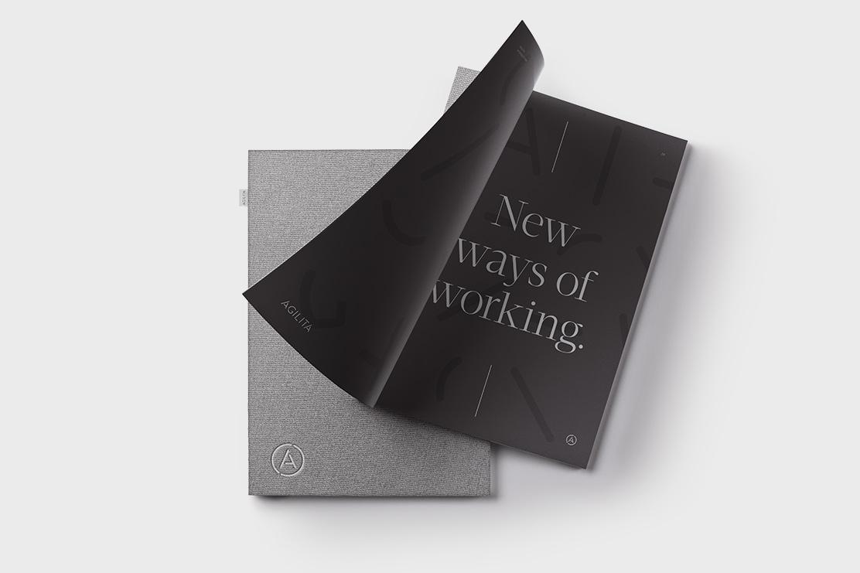 Brochure design for Agilita